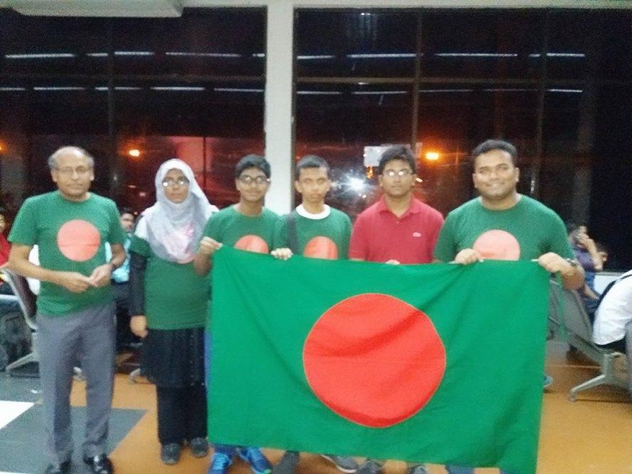 Team Bangladesh in IBO2016