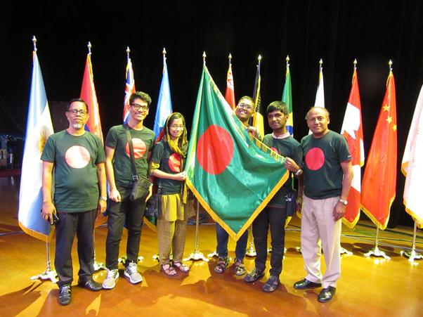 Team Bangladesh at IBO 2018
